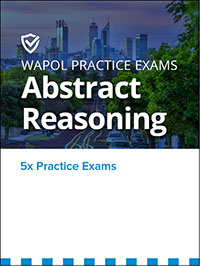 Abstract Reasoning Cover Image for the WA Police Entrance Exam